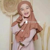 Kerudung Anak Lipat Gotik / Jilbab Hijab Anak TK Murah / Alody's Colle