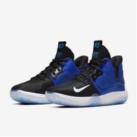 ORIGINAL Nike Sepatu Basket KD Trey 5 VII EP - Biru Hitam Putih - 40