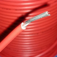 Kabel AWG14 AWG 14 Diamater serabut 3.5mm JAPAN Merah per meter