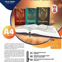 Al Quran Ash Shahib A4 Rasm Ustmani Terjemah