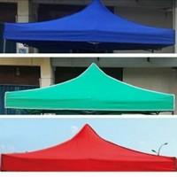 atap tenda lipat ukuran 2x2