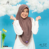 Jilbab Hijab Instan Arrafi AR 537 ORI Kerudung Bergo Instan Terbaru