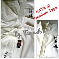 baju beladiri karate kata premium