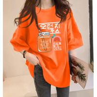 Tumblr Tee / T-Shirt / Kaos Wanita Lengan Pendek Oversized  Kaktus