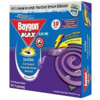 Baygon Obat Nyamuk Bakar Jumbo 5's Lavender