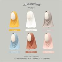 Mooi Hijab Instant Anak Perempuan Jilbab Anak