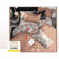 Sprei Set Bed Cover Katun Super Ukuran 140x200 t30cm