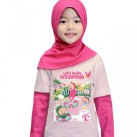 Baju/ Kaos Lengan Panjang Anak By AfraKids Lets Swim - S