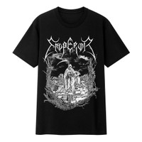 Kaos Baju Musik Pria Dan Wanita Band Black Metal Emperor