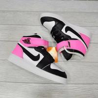 Sepatu anak / NIKE AIR JORDAN / Hitam Pink 21-35