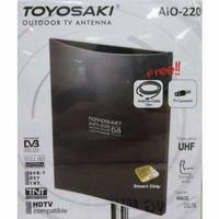 Toyosaki Antenna TV Indoor & Outdoor Kualitas HD - AIO220