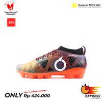 Sepatu Bola Ortuseight Forte Instinct Fg Ortrange Maroon Ocean Blue - Orange, 39
