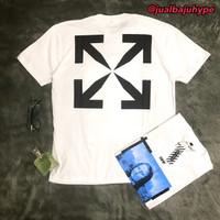Baju Kaos Tshirt Off White Monalisa White Premium Hype Mirror Quality