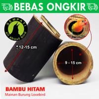 GLODOK LOVEBIRD BAMBU / BAMBU SETAN VIRAL MAINAN SARANG BURUNG BAMBUV