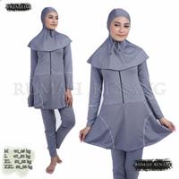 Baju Renang Muslimah Dewasa List Tangan RMD 012