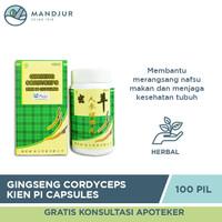 Ginseng Cordyceps Kien Pi Capsules - Penambah Nafsu Makan, Berat Badan