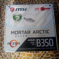 MSI B350M MORTAR ARCTIC RYZEN DDR4 WHITE MOTHERBOARD