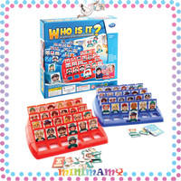 [1KG 3PCS]❤ MiniMamy ❤Papan Permainan Tebak Gambar Who Is It