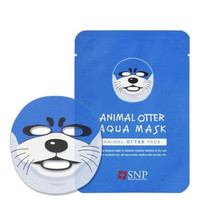 Masker Wajah Animal Mask SNP Skin Care Masker Korea lucu MSWAA