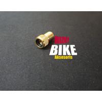 adaptor kuningan sambungan pentil fv ban sepeda balap fixi fixie 700c