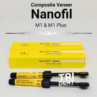 Tambalan gigi composite Veneer nano fill M1 dan M1 Plus - A3.5