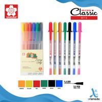 Pulpen Warna Sakura Gelly Roll Classic Color Set Gel Pen Bolpen