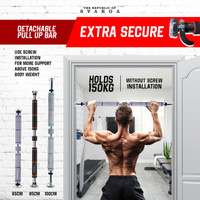Pull Up Bar Svarga   Tiang Pull Up   Available in 2 sizes