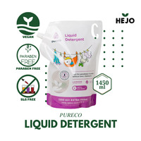 Pureco - Liquid Detergent 1450 ml Baby Safe Sabun Cuci Baju Bayi