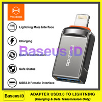 Mcdodo OTG Converter USB A 3.0 To Lightning iPhone iPad Data Transfer