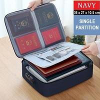 [LOCKIT] Travel Document Bag 3 Digit Password / Tas Dokumen Anti Air