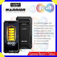 LUNA Warrior G6E Rugged Smartphone - NFC - 6/64GB - Resmi - 8000 mAh