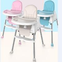 IQ Baby My Chair Baby Booster & High Chair Kursi Makan Bayi - Biru