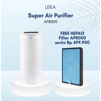 LEKA AP8000 Super Air Purifier - HEPA13 Filter UVC Ion Negatif HEPA UV