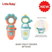 Baby Fruit Feeder BFT0421 Little Baby - Whale - Biru