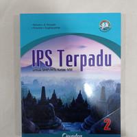 NEW Buku IPS Terpadu Kelas 8 Revisi Quadra