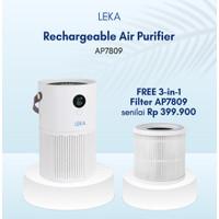 LEKA AP7809 Portable Air Purifier (Rechargeable) - HEPA12 Filter Anion