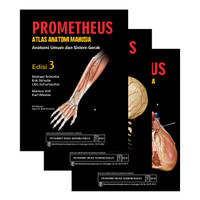 Prometheus Atlas Anatomi Manusia Edisi 3 (3 Buku)