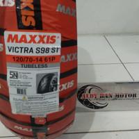 ban maxxis victra 120/70 14