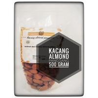 kacang almond panggang roasted 500gr