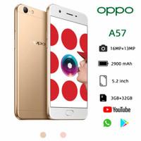 oppo A57 smartphone ram 3/32GB Kamera hp 16MP+13MP 4G LTE