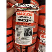 Ban Tubeless Maxxis Extramaxx M6233W 100/80-17 TL
