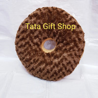 Boneka Bantal Donut Coklat/Kacang