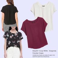 BREP 521 Coup Top Baju Atasan Blouse Wanita Branded