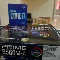 Paket Core i7 10700 + ASUS PRIME B560M-A - Intel LGA1200