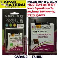 BATERAI HUAWEI HONOR 7S - 7A - 7 PLAY - HB405979ECW - LOG ON BATTERY