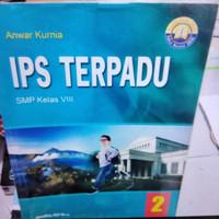 buku IPS terpadu untuk SMP kelas 8 K 2013 Yudistira