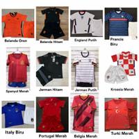 Jersey Kaos Setelan Baju Anak Sepak Bola Import