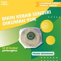 Tortilla Kulit Kebab Mini Kulit Kebab Kecil Diameter 20 cm