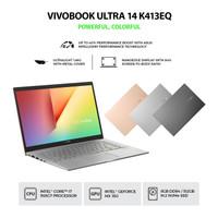 ASUS VivoBook 14 K413EQ-EB751IPS Transparent Silver
