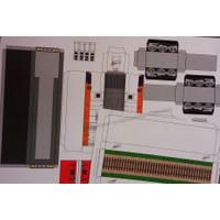 Pola Papercraft Lokomotif CC 203